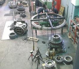 Deck equipment repair